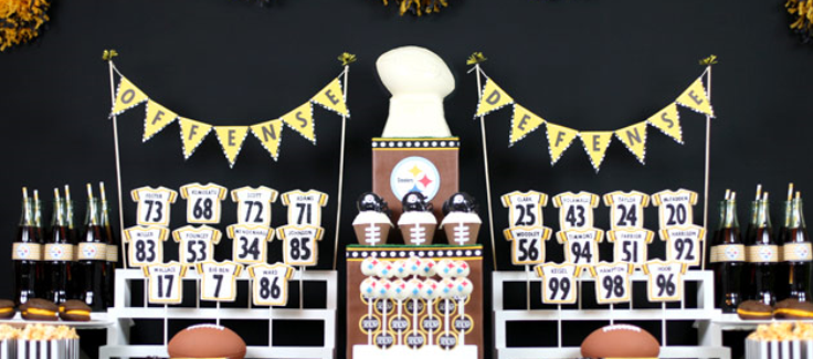 Parties We Love: Are You Ready For Some Football?