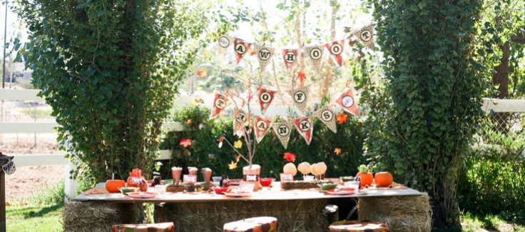 Parties We Love: Gobble Gobble Get-Togethers