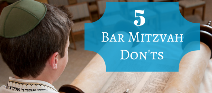 Bar Mitzvah Mayhem: Top 5 Don'ts
