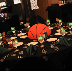 A Basketball Themed Bar Mitzvah