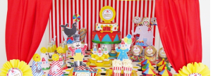 Big Top Circus Birthday Party