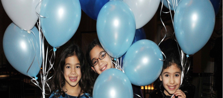 A Blue and White Bar Mitzvah Celebration