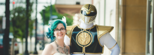 Real Wedding: Power Ranger Groom Rocks Comic-Inspired Wedding
