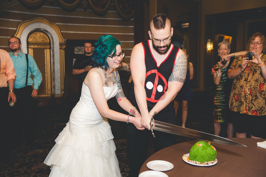 Weddings Comic Con Power Rangers Wedding Gigmasters