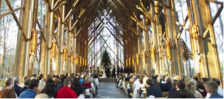 Glass Wedding Venue