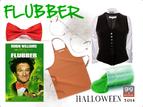 Robin Williams Halloween Costume flubber