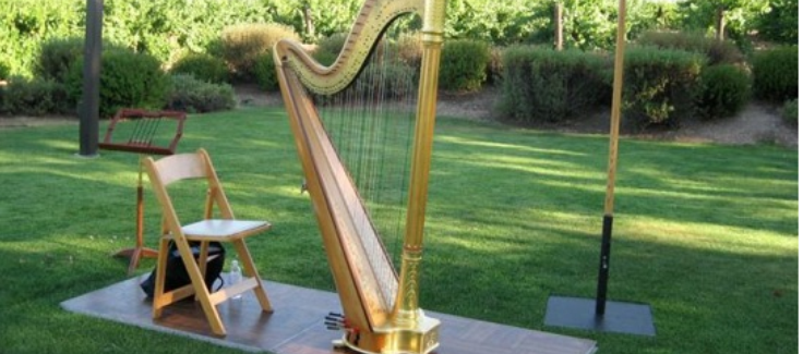 How to Hire a Harpist for Your Wedding