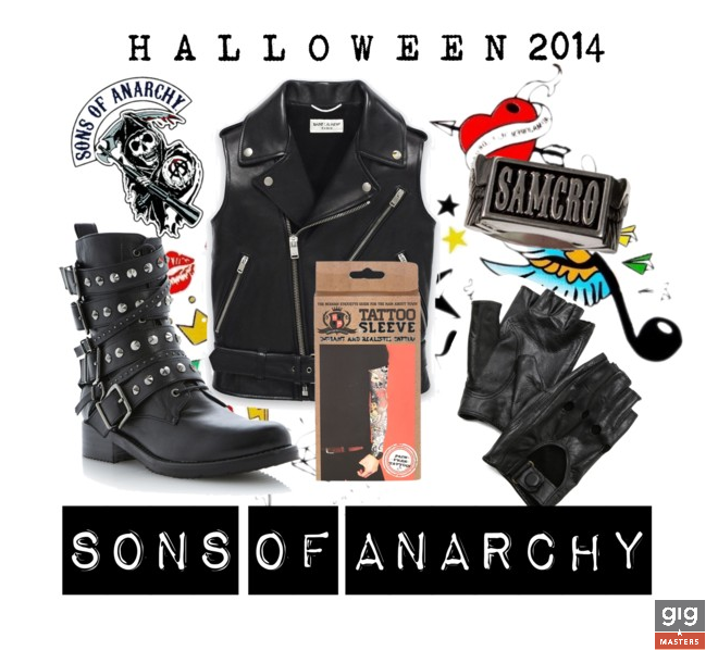 halloween costume 2014 sons of anarchy biker