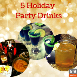 Holiday Party Drinks: 5 Celebratory Cocktail Recipes from GigMasters Bartenders