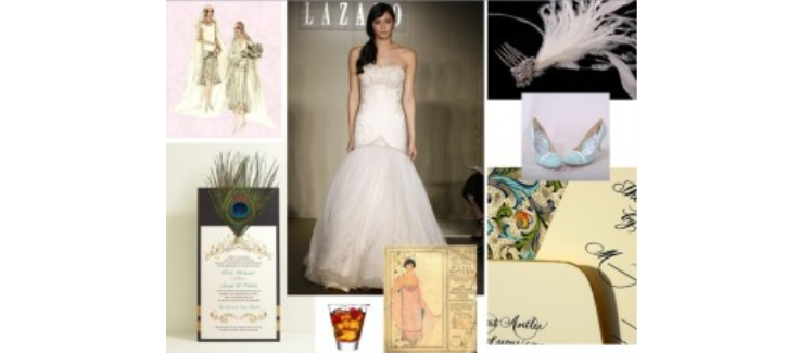 Wedding Theme Inspiration: The Jazz Age