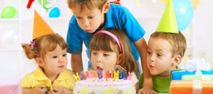 Top 10 Kids' Party Trends of 2011