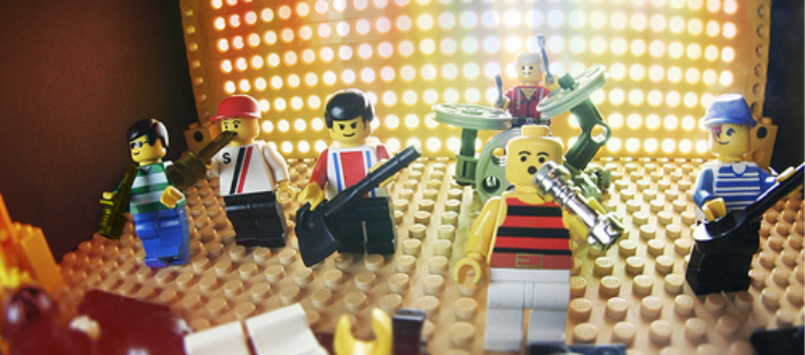 Lego's Stress-Free Summer Party