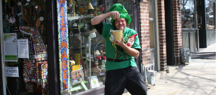 Real Event: The Great Narberth Leprechaun Hunt