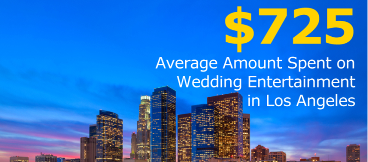 Los Angeles Wedding Entertainment Costs