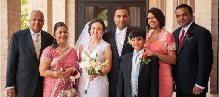 Hindu and Catholic Wedding Ceremony