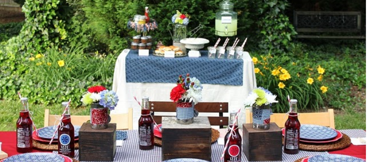 Parties We Love: Backyard Labor Day Celebrations