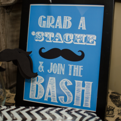 Mustache Birthday Bash