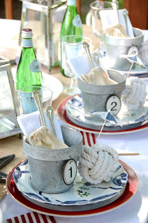 Get Nauti: nautical table decor