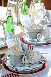 Get Nauti: nautical table decor
