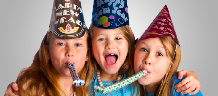 4 Ideas for a Kid-Friendly New Year's Eve Party