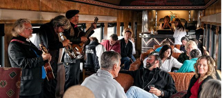 Real Event: Rhythm on the Rails, A Musical Journey
