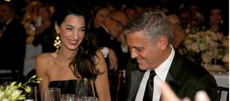 George Clooney's Wedding Music