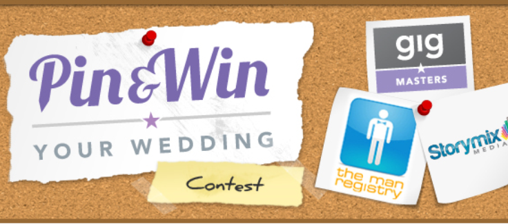 Pin & Win Your Wedding Contest
