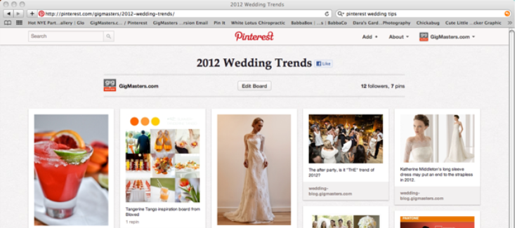 Pinterest and Your Wedding Planning