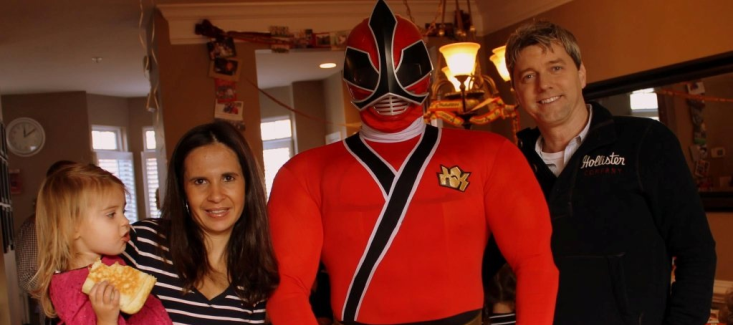 Real Event: Power Ranger Birthday Party