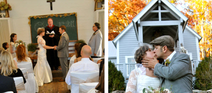 School Inspired Weddings