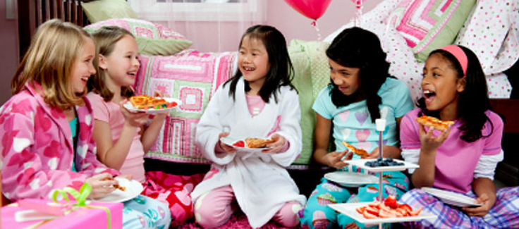 Kids' Party Ideas: The First Slumber Party