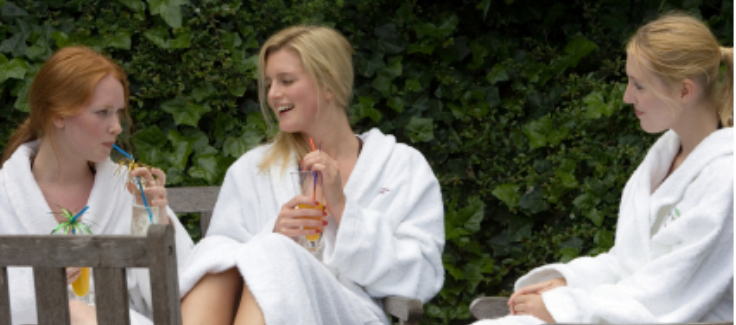 Host A Spring Fling Spa Party with Guest, Not Just A Mommy