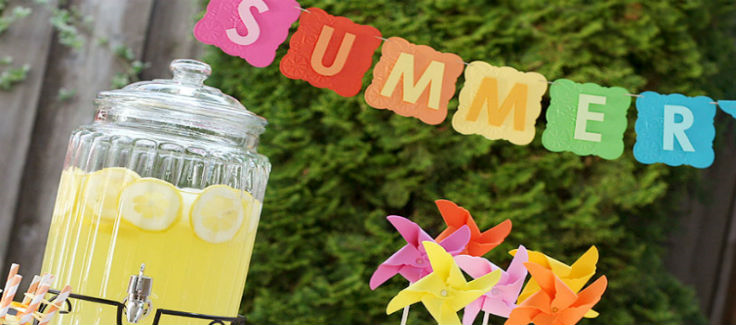 5 Unique Party Ideas for a Non-Bummer Summer