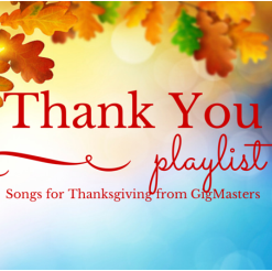 Playlist: Songs to Say Thank You