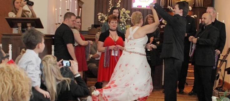 A Bride with Cancer Tells Her Story