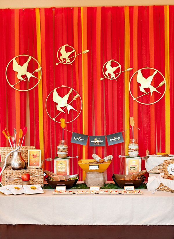 Hunger Games Birthday Cake Decorations