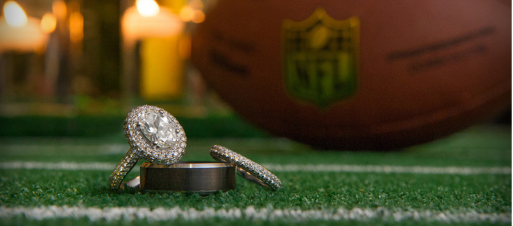 Touchdown! An NFL Wedding