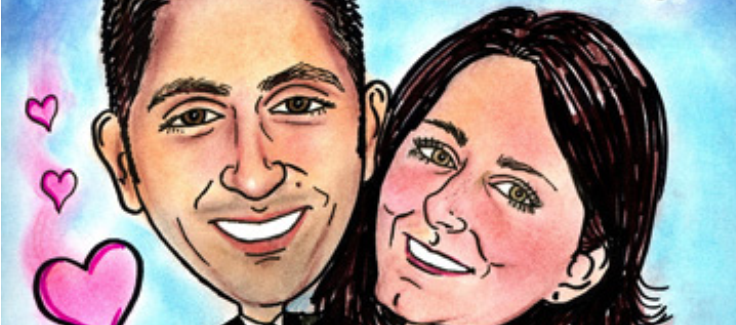 Hiring a Caricature Artist for Your Wedding