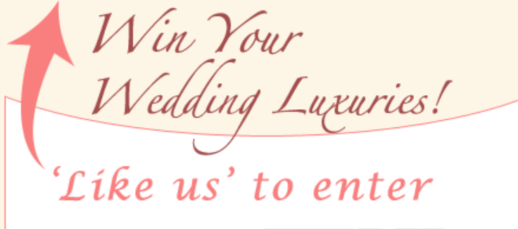 Wedding Contest, Win $1,500 in Wedding Luxuries