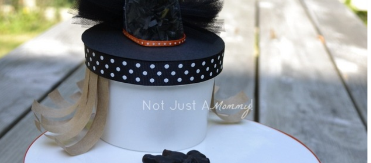 Witchy Craft Halloween Treat Container Tutorial