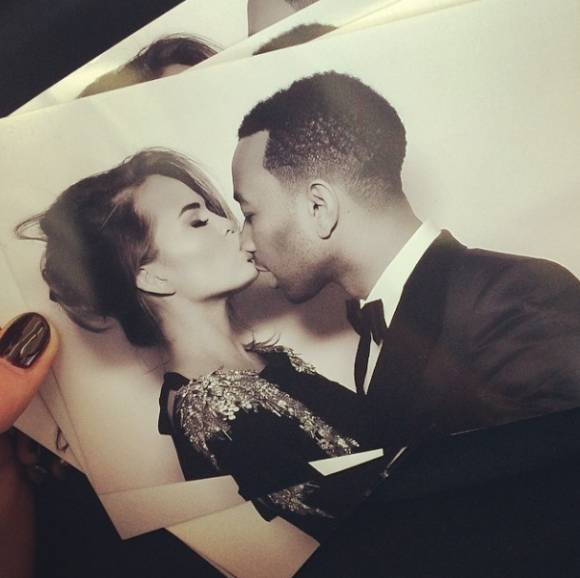 Photo Booth Picture from Kim Kardashian Kanye West Wedding