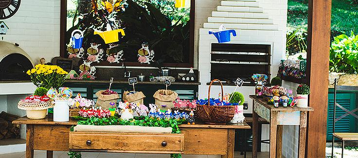 Farm Themed First Birthday