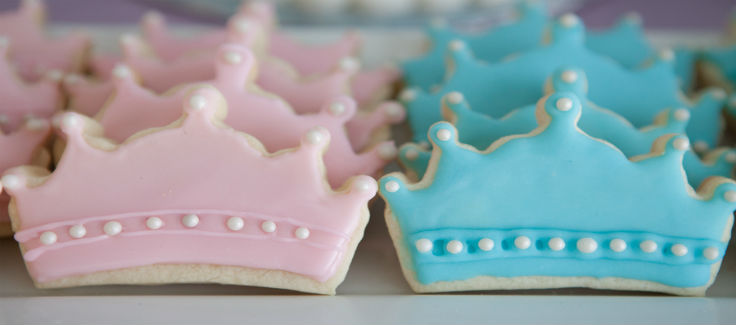 Pink & Blue Princess Party