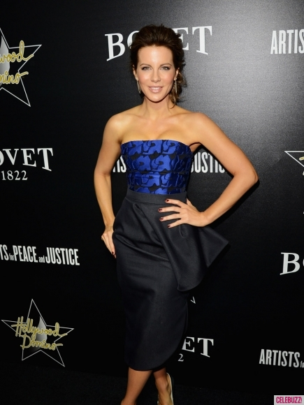 Hollywood Domino 2014: Actress Kate Beckinsale on the red carpet