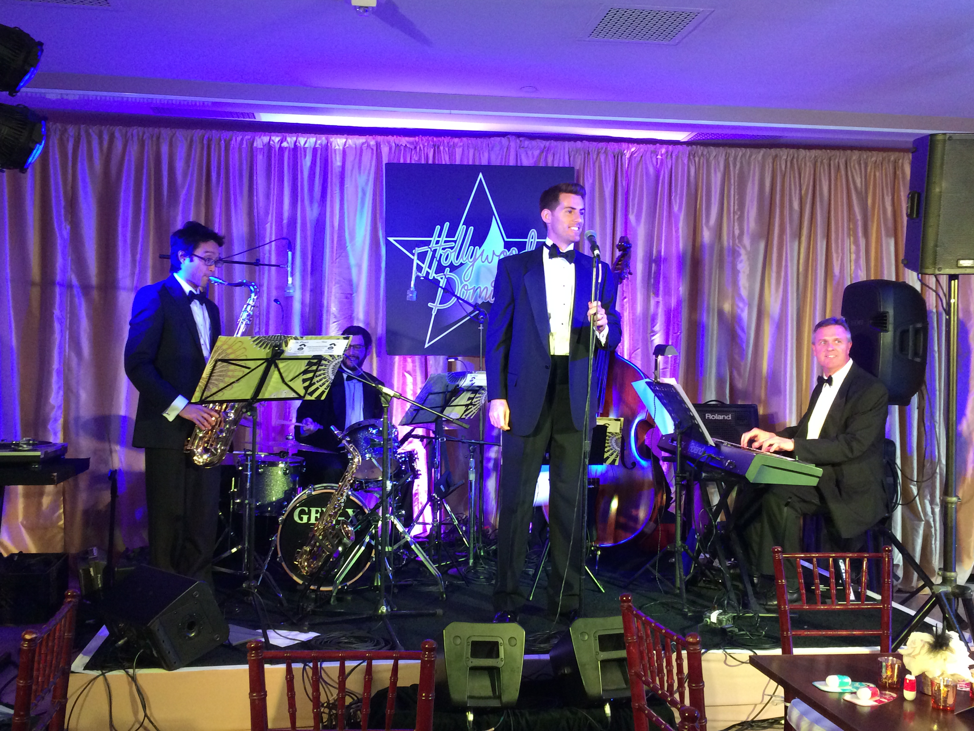 Hollywood Domino 2014: GigMasters members N8+ Jazz Band perform