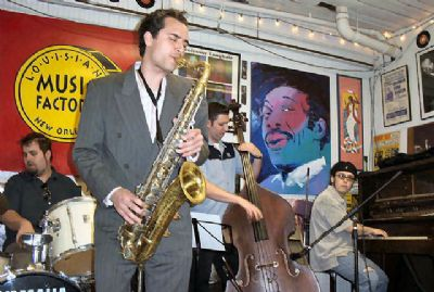 ted hefko new orleans band and trio
