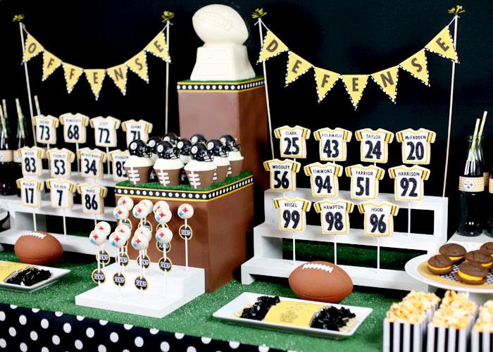 Super Bowl Cake Decorations