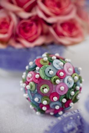 bouquet button
