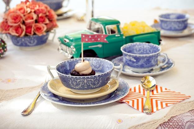 blue tea party
