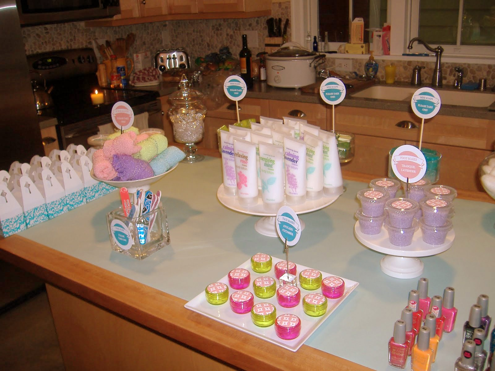 Host A Spring Fling Spa Party With Guest Not Just A Mommy
